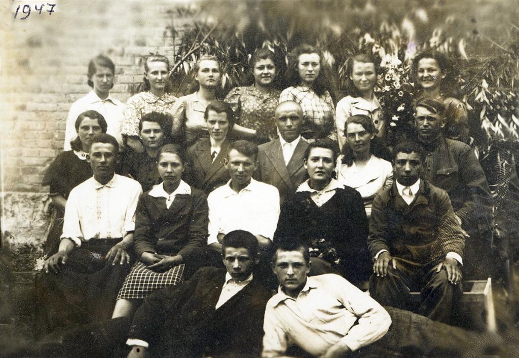 Учні Гопчицької школи, 1947 рік
