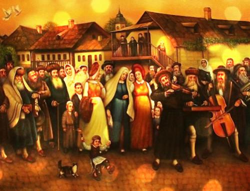 Агад Га-ам в селі Гопчиця. Весілля (Глава 7)