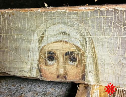 У Гопчиці знайдено розписи Свято-Троїцької церкви, яким понад 150 років (фото)