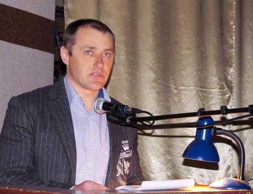 Сільський голова Роман Прилуцький відзвітував за роботу у 2017 році