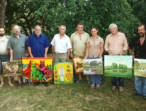 В Гопчиці пройшла виставка робіт художнього пленеру