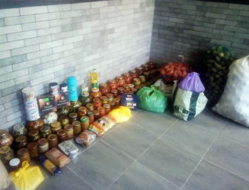 Гопчиця передала продуктову допомогу землякам в зону АТО