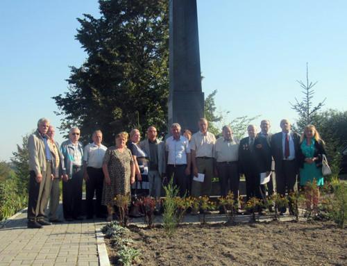 Гопчиця віддала шану землякам-партизанам, розстріляним в роки Другої світової