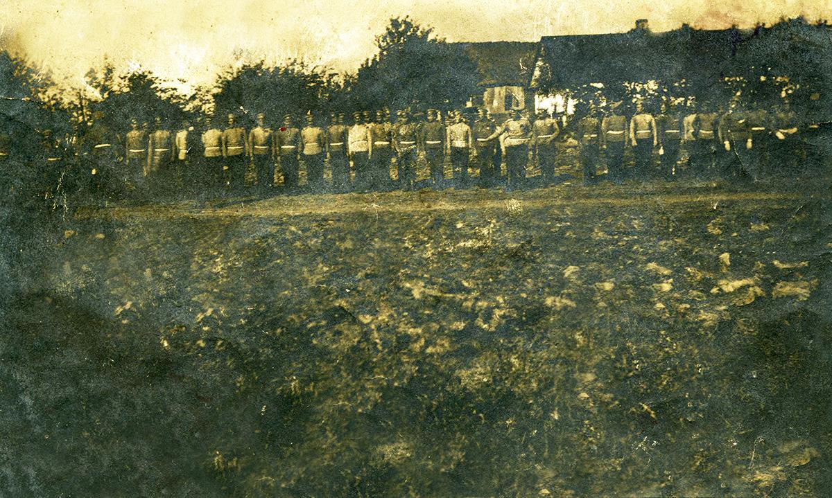 Щоденник учасника Першої світової війни з Гопчиці Петра Науменка