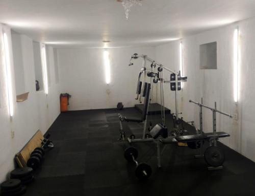 У здоровому тілі — здоровий дух: в Гопчиці відкрили нову тренажерну залу