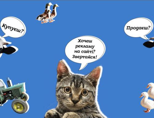 Реклама на сайті Гопчиці