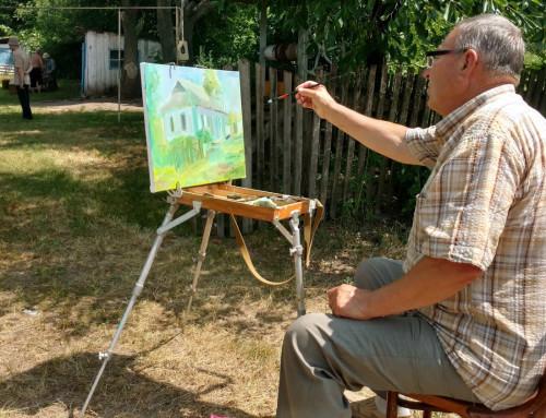 В Гопчиці стартував обласний художній пленер