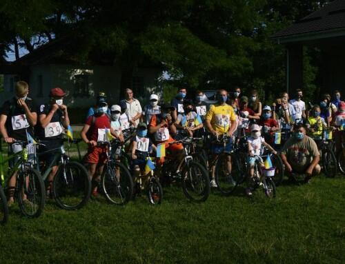 День Конституції та День молоді Гопчиця відзначила велопробігом до витоків річки Рось