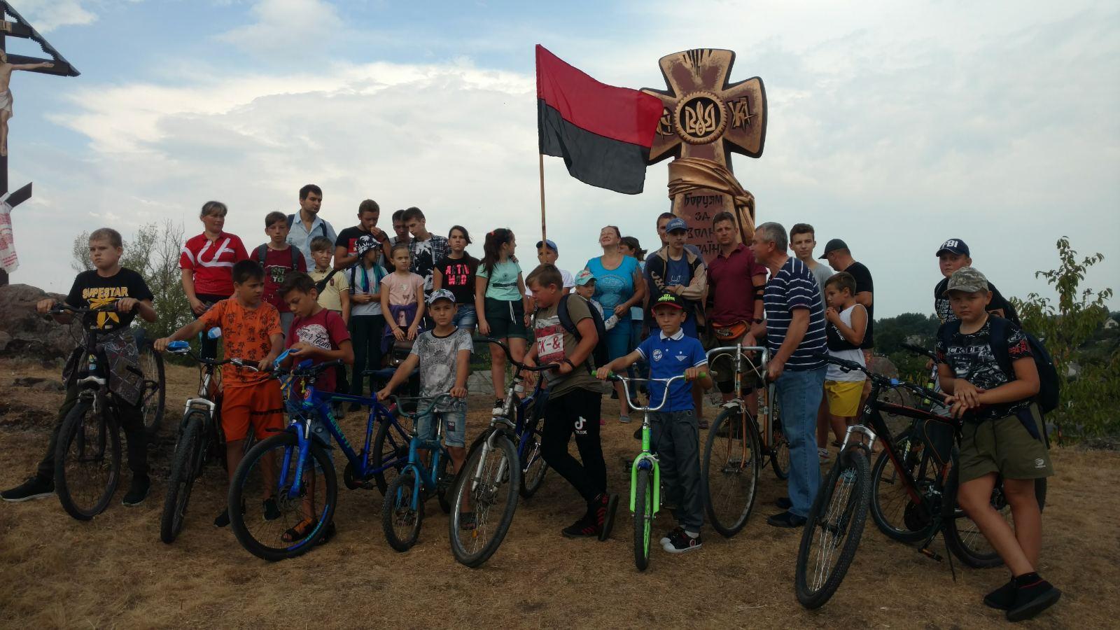 День Незалежності громада Гопчиці провела велопробіг, присвячений отаману УНР, генерал-хорунжому УПА Івану Трейку