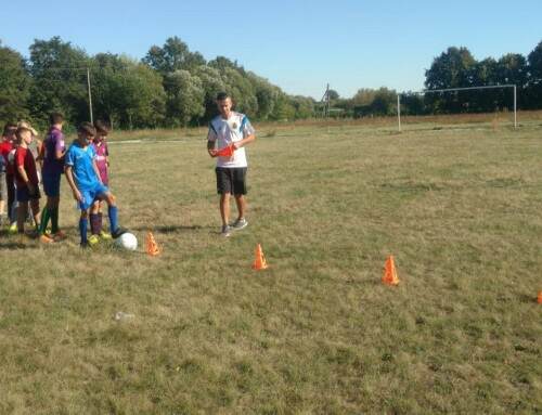 В Гопчиці відкрили секцію футболу для дітей
