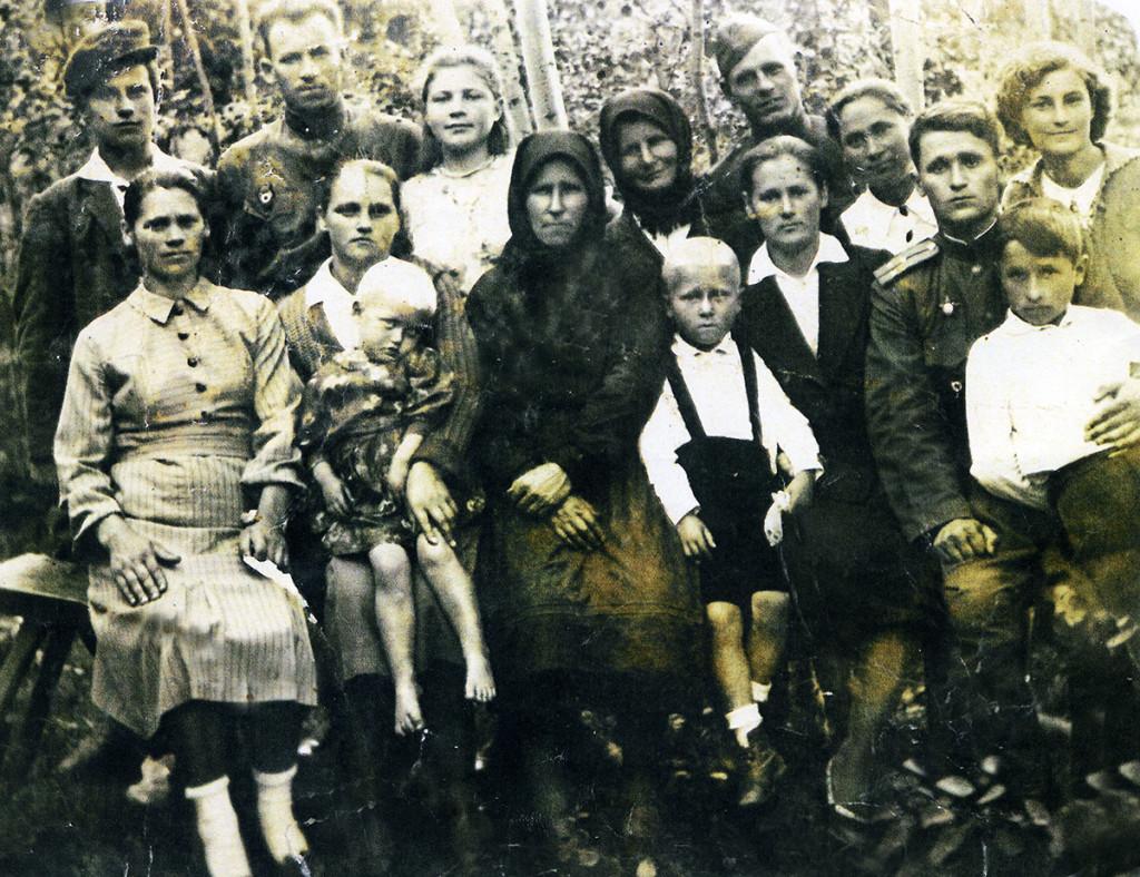 Жителі Гопчиці відразу після закінчення Другої світової війни